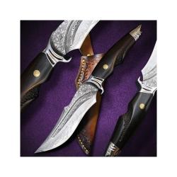nůž lovecký Dellinger SHARK vg-10 Damascus