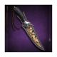 nůž lovecký Dellinger LEAF vg-10 Damascus