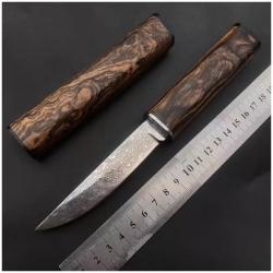 nůž japonský Dellinger PATTEN Tanto VG-10 Damascus