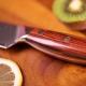 """nůž na chléb Bread 8,5"""" (210mm) Dellinger Rose-Wood Damascus"""
