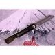 "japonský nůž HIGONOKAMI ""M"" full steak - black"