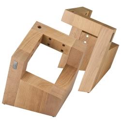 "Magnetický stojan na nože ARTELEGNO ""Square"" Pisa Collection - buk"