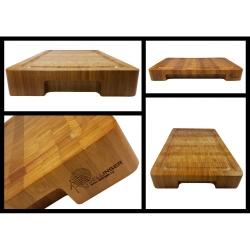 bambusové prkénko 400x250x50 frézované