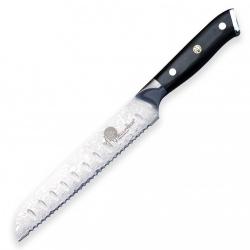 "nůž na pečivo Bread 8"" (195mm) Dellinger Samurai Professional Damascus vg-10"