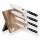 Profesionální 5-ti dílná sada Kuchyňských a kuchařských nožů s magnetickým držákem