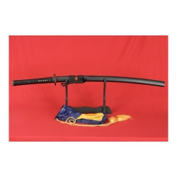 Katana MAEMI z ocele AISI 1095 a reálným hamonem od firmy Kawashima