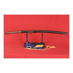Katana SANIIRO z ocele AISI 1095 a reálným hamonem od firmy Kawashima