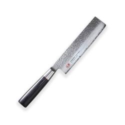 Nakiri (nůž na zeleninu) 170mm-Suncraft Senzo Classic-Damascus-japonský kuchyňský nůž-Tsuchime- VG10–33 vrstev