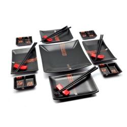 porcelánový servis na SUSHI - Black Budget Maxi