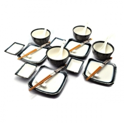 porcelánový servis na SUSHI - Tajimi maxi