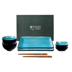 porcelánový servis na SUSHI - Turquoise