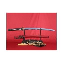 Wakizashi TOKIWA ručně kované z ocele 1095 a reálným hamonem od f. Kawashima