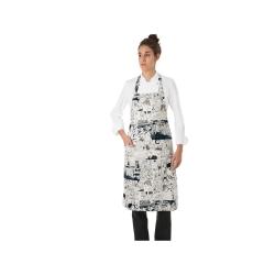 zástěra kuchařská náprsenková Giblor´s Comix