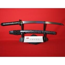 wakizashi Kaigara z uhlíkové oceli AISI 1095 a reálným hamonem