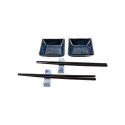 porcelánový servis na SUSHI - Cobalt Blue I Mini