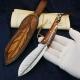 nůž lovecký Dellinger QUILL vg-10 Damascus
