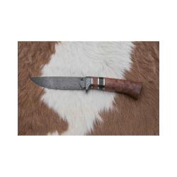 Kovářství Čurda, lovecký damaškový nůž. 446