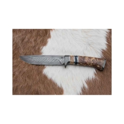 Lovecký damaškový nůž kovář Čurda č.468