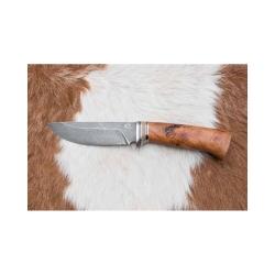 Lovecký damaškový nůž kovář Čurda č.467