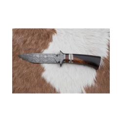 Lovecký damaškový nůž kovář Čurda č.470