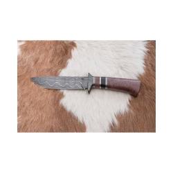 Lovecký damaškový nůž kovář Čurda č.485