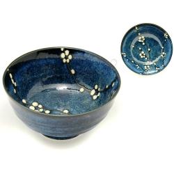 miska na polévku (ramen) Hana Blue 17x8,7cm