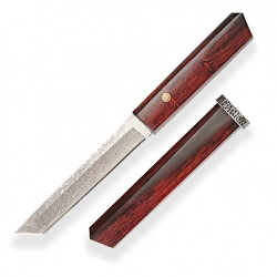 nůž japonský Dellinger RING Tanto VG-10 Damascus