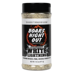 kořenící sůl Boars Night Out WHITE LIGHTNING 411g