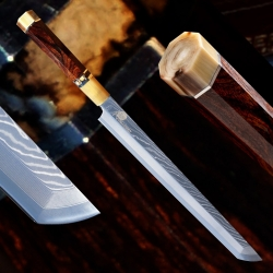 nůž Sakimaru 270 mm - Dellinger Mammut White Octagonal SKD11