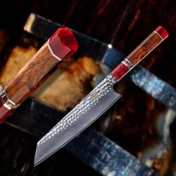 nůž Chef / Kiritsuke 220 mm - Dellinger Mammut White Octagonal VG10