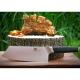 "Kiritsuke / Chef 8"" (205mm) Dellinger CUBE Ebony Wood"