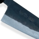 nůž Gyuto / Chef 180 mm - KIYA Suminagashi Kurouchi Damascus 11 layers