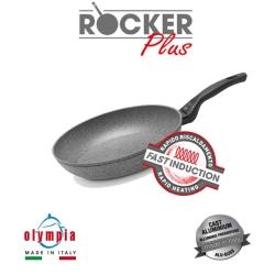 pánev ROCKER PLUS Induction Ø 24 cm z litého hliníku s minerálním kameninovým povrchem