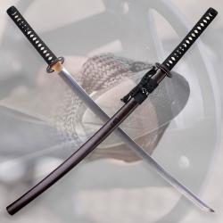 Sentō Japanese Sword Folded Damascus T-10 Steel