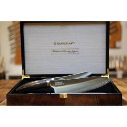 Dárková sada - Suncraft ELEGANCIA SG2 - Kiritsuke / Chef 200 mm + Petty 150 mm