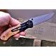 Lovecký zavírací damaškový nůž Dellinger Hunter Poplar Burl limited - série pouze 200 ks