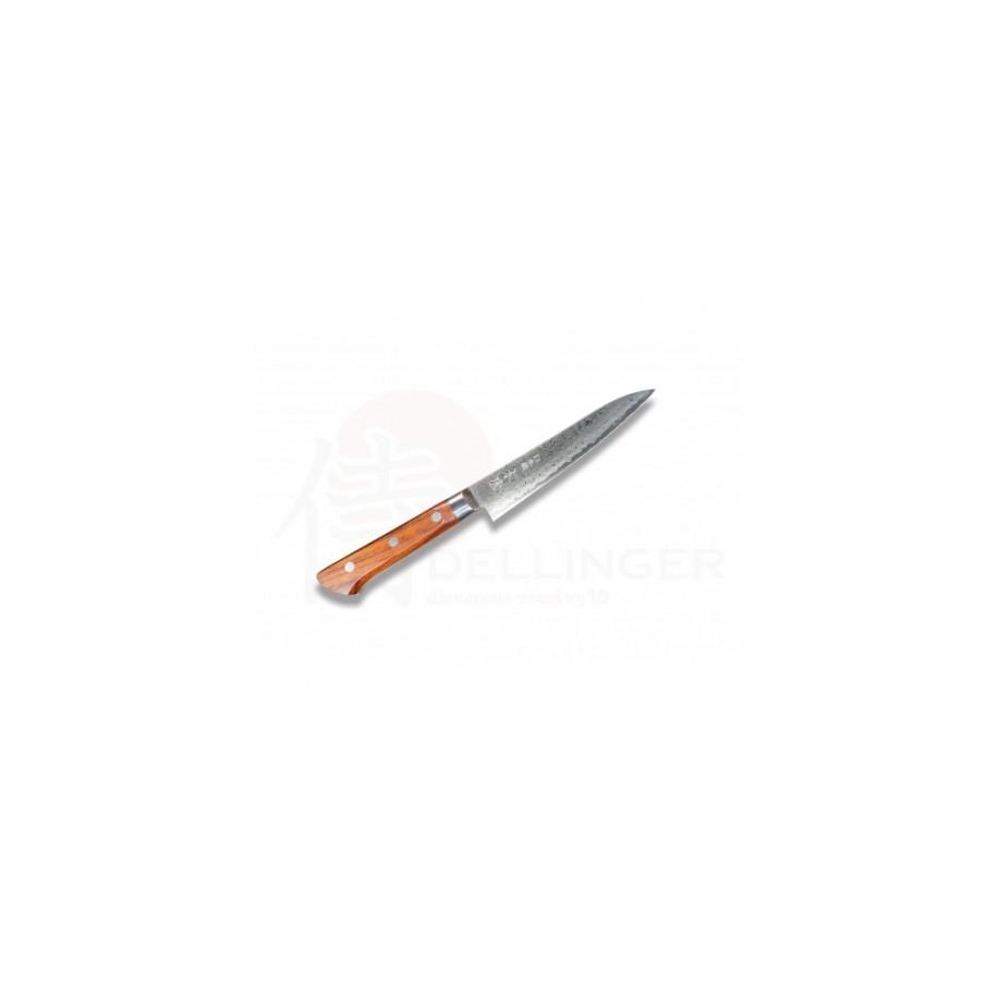 Japonský damaškový nůž KIYA 49 layers petit