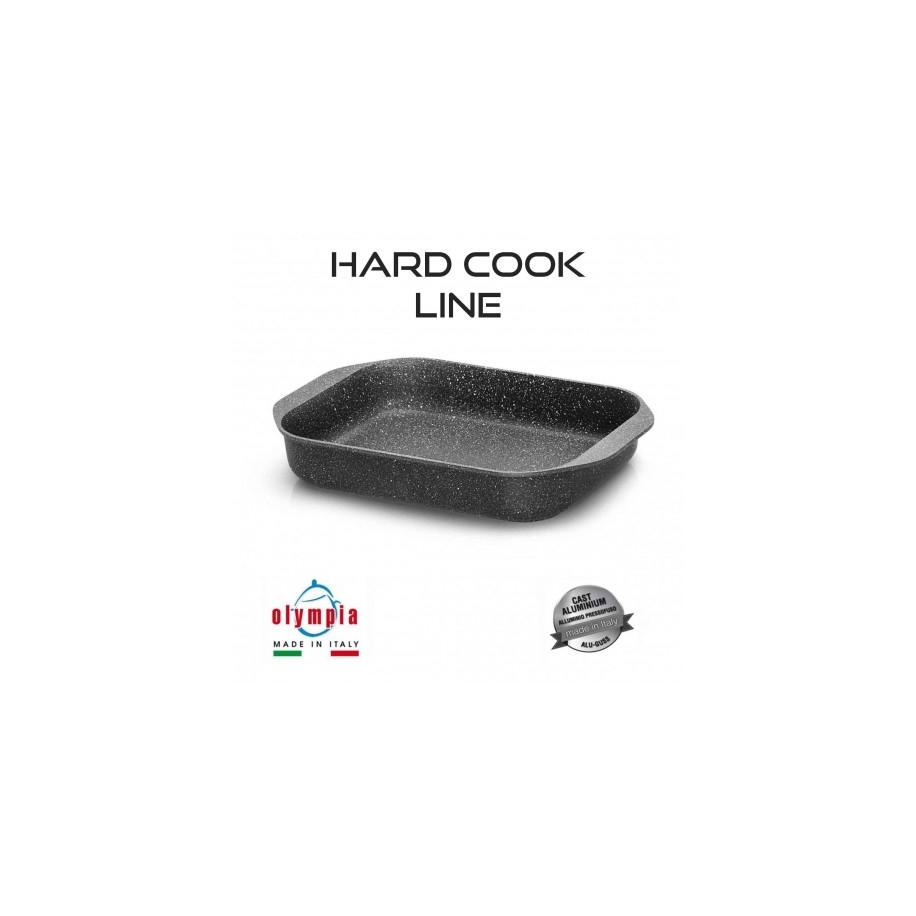 pekáč HARD COOK 35x25cm z litého hliníku s minerálním kameninovým povrchem