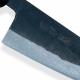 nůž Gyuto / Chef 210 mm - KIYA Suminagashi Kurouchi Damascus 11 layers