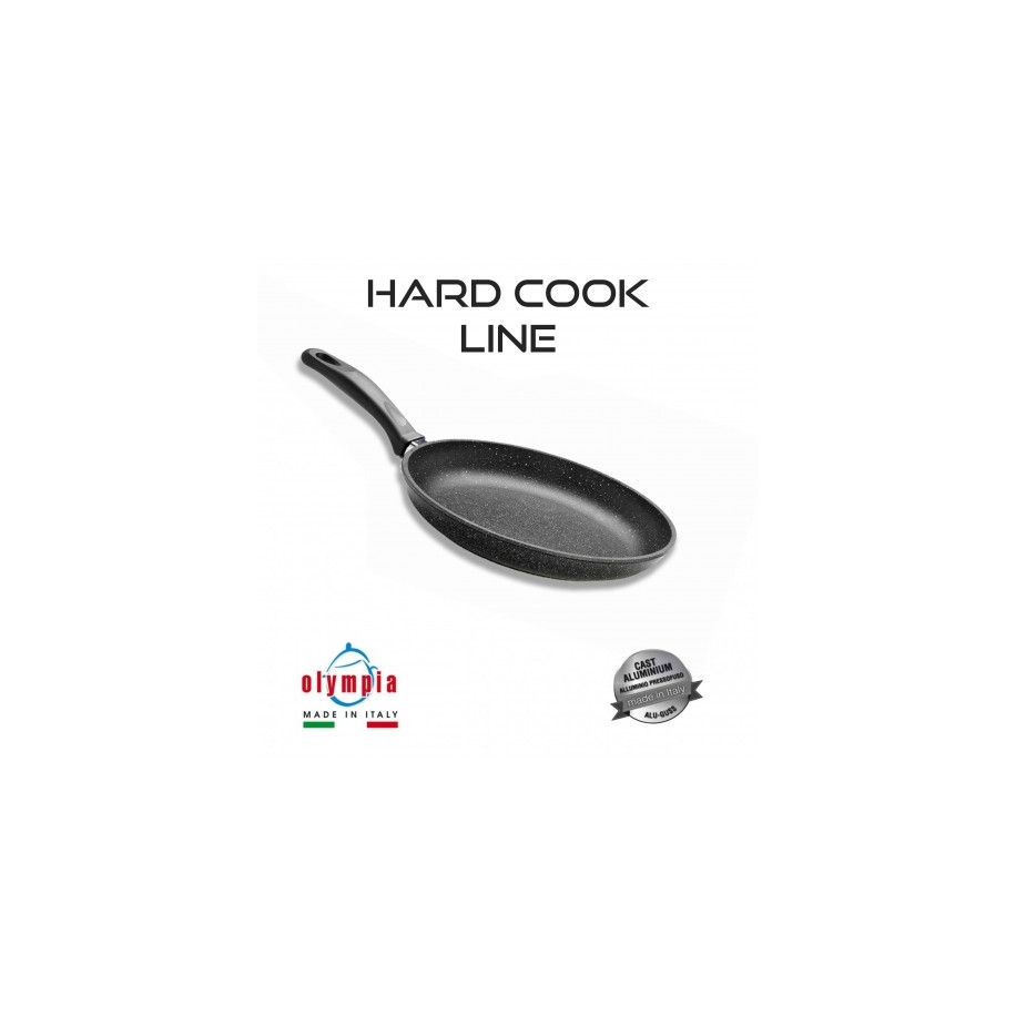 pánev HARD COOK Ø 20 cm z litého hliníku s minerálním kameninovým povrchem