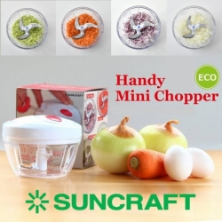ruční sekáček / mlýnek Suncraft na zeleninu, ovoce, maso a jiné