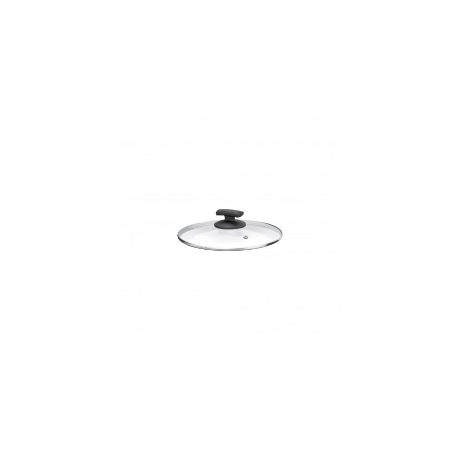 Skleněná poklička Ø 20 cm s parním ventilem pro teploty do 180°C