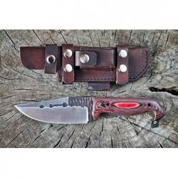 nůž Dellinger D2 Red Escape
