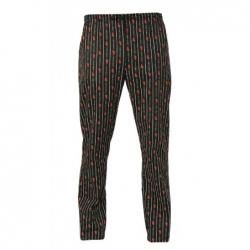 Giblor´s Atene kuchařské kalhoty pánské - vzor čili papričky