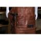 kožená zástěra Dellinger SOFT LEATHER BBQ - Brown Vintage Look