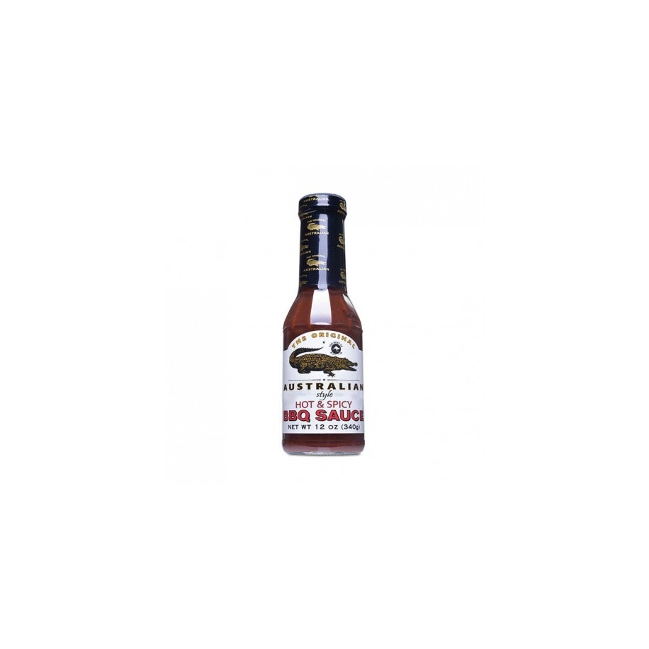 Original Australian BBQ omáčka - Hot & Spicy BBQ Sauce 355ml