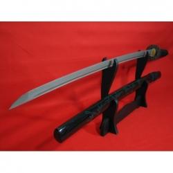 katana HONYAKU z překládané (damaškové) oceli AISI 1045 + AISI 1060
