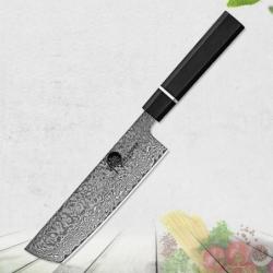 nůž NAKIRI 180 mm Dellinger Octagonal Ebony Wood