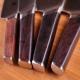 "Kiritsuke / Utility 5"" (130mm) Dellinger CUBE Ebony Wood"