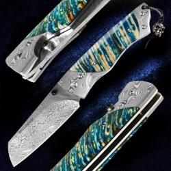 zavírací nůž Tanto Dellinger Angriperen RWL34 Powder